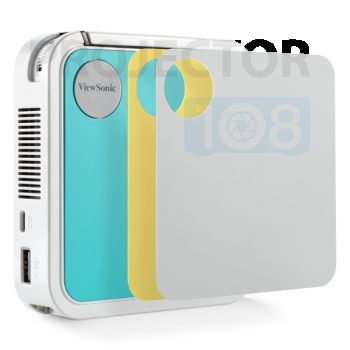 ViewSonic M1 Mini Portable LED Projector with JBL Speaker