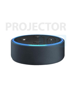 Amazon Echo Dot Case (fits Echo Dot 2nd Generation only) - Midnight Leather