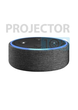Amazon Echo Dot Case (fits Echo Dot 2nd Generation only) - Charcoal Leather
